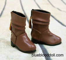1/4 bjd msd girl doll brown color short boots shoes dollfie luts S-109M ship US