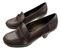 Aerosoles Rollatini Womens Size 10 Brown Faux Leather Pumps Heels Shoes