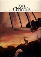Oldsmobile Cutlass 1990 USA Market Sales Brochure Supreme Ciera Calais Cruiser