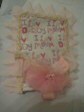 "Cute handmade  bouncy seat. Fits 4-7"" Dolls"
