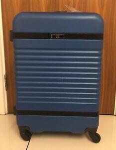 PAUL COSTELLOE Hard Shell Suitcase - Blue - Medium -  £150