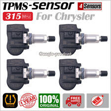 SET(4) TPMS 315MHz for Tire Pressure Sensors for Dodge Chrysler Jeep 56029526AA