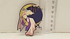 Moon Fairy Rubber Fairy Keychain fairy key chain keyring