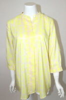 Gap Maternity Sz S Ivory With Yellow Polka Dot Pullover Shirt Blouse Top New
