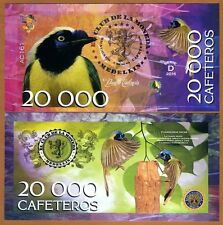 El Club De La Moneda 20000 Cafeteros 2016 (2015) POLYMER > Green Jay