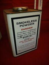 Dupont Smokeless  Gunpowder large  can,