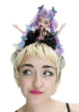 Zombie Doll Flower Pastel Crown Headdress Goth Gothic Witch Halloween Gobbolino