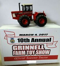 1/64 IH International Harvester 4wd tractor, 2017 Grinnell Toy show 1 of 60 made