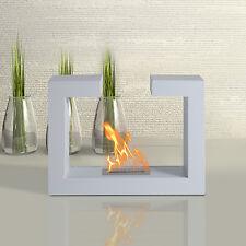 Homcom Kamin Bioethanol Biokamin Kaminofen Standkamin Stand Kamin Hartglas Stahl