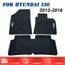 Rubber Car Floor Mats Tailored For HYUNDAI i30 GD Series Hatch / Wagon 2012-2016