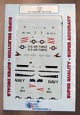 1/72 SuperScale Decals 72-603 T-33's VX-4; Oregon AMG; 52nd Rtr. Mg mint