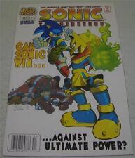 SONIC THE HEDGEHOG #183 (Archie Comics 2008) RARE NEWSSTAND COPY (VF) SEGA