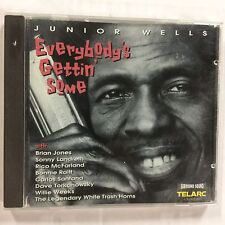 Everybody's Gettin' Some by Junior Wells (CD, Mar-1995, Telarc Distribution)