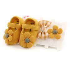 Baby Girl Shoes Infant Soft Sole Crib Newborn Headband Toddler Sneaker Antislip