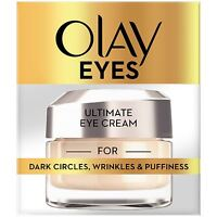 Olay Eyes Collection Ultimate Eye Cream Dark Circles Wrinkles & Puffiness 15ml