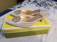 Jack Rogers Audrey Kitten Heel Ladies 9.5 M New With Box