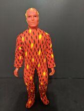 "Vintage 1975 Mego Human Torch 8"" Action Figure ~Original,Complete Fantastic Four"