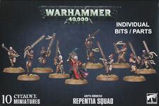REPENTIA SQUAD Adeptus Sororitas Sisters PARTS Warhammer 40k Heads Body Weapons