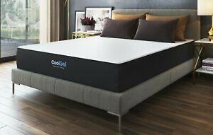 Modern Sleep Cool Gel Ventilated Gel Memory Foam 10.5-Inch Mattress Twin XL