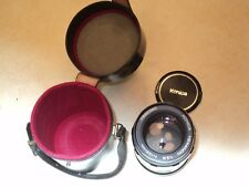 KONICA Hexanon AR 135mm F:3.5 Lens SLR Camera DSLR Micro w/Case (Price Cut)