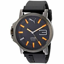 Puma Watch On Sale Cheap Watches Best Sport Men Ultrasize Analog Quartz Black