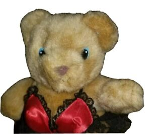 """Vtg 80s Papel Freelance Teddy Bear Sexy Outfit Naughty Lingerie Gift Romance 10"""""""