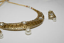 Gold Plated Necklace Fashion Jewelry Earring New #SH201B