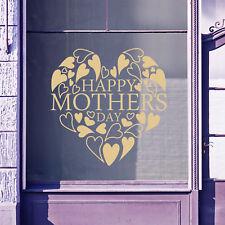 Feliz Día de la Madre Pared & Ventana Pegatinas Calcomanías Tienda Pantalla A336