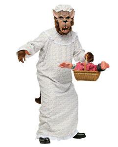 ★ Böser Oma Wolf Rotkäppchen, Werwolf, Unisex kostüm  Tierkostüm Halloween Scary