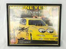 Kenji Okazaki Mooneyes Framed Autograph Funny Car NHRA Racing Champion