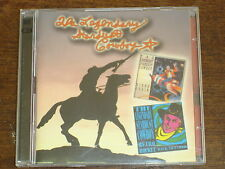 THE LEGENDARY STARDUST COWBOY Retro rocket back to earth + Rides again 2CD