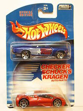 HOT WHEELS 2 CAR PACK ZOTIC - THE FRYER CHECKER SCHUCKS AUTOPARTS
