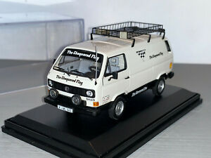 RALLY 1/43 VW LT ASSISTANCE SERVICE VAN CHEQUERED FLAG LANCIA STRATOS COLEMAN