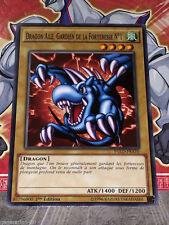 Carte YU GI OH DRAGON AILE, GARDIEN DE LA FORTERESSE N°1 YGLD-FRA10 x 3