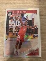 2018-19 Panini Optic Donruss SILVER Holo Prizm Clint Capela Houston Rockets #62