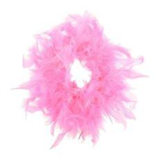 Accessori rosa piuma per carnevale e teatro dal Perù