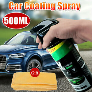 500ml Shine Armor Ceramic Spray Car Polish Spray Top Coat Quick Nano Coating AU