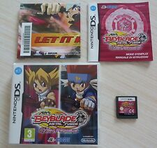 JEU VIDEO NINTENDO DS DSI LITE BEYBLADE METAL FUSION CYBER PEGASYS COMPLET