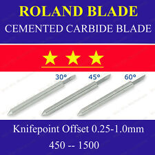 5x HQ 45 Degree Cemented Carbide Blades for Roland Cutting Plotter Vinyl Cutter