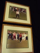 Arnold Palmer & Jack Nicklaus 2 Professional Photos @ Masters