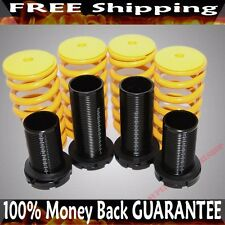 YELLOW 88-00 Honda Civic 94-01 Acura Integra Coilover Lowering Springs Kits