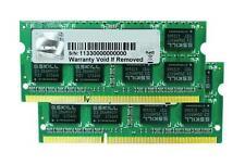 16GB G.Skill DDR3 1600 MHz PC3-12800 CL10 Laptop Dual Channel 2x8GB 1.5 v