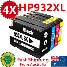 4X HP 932XL 933XL Ink Cartridge For HP Officejet 6100 6600 6700 7610 7612 GIX85A
