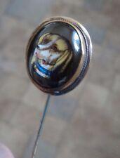 Vintage Gun Dog  Stick Pin / Stock Pin / Brooch c.1890/1900s - Essex Crystal