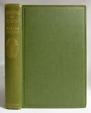Antique 1922 FISHING IN EDEN Angling Flies & Tackle NELSON British Sporting RARE