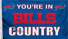 Buffalo Bills Huge 3'x5' NFL Licensed Country Flag / Banner - Free Shipping