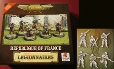 Dystopian Legions DLRF19 Republique of France Legionnaires Infantry Section NIB