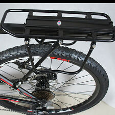 Bike Bicycle Quick Release Luggage Seat Post Pannier Carrier Rear Rack Fender