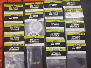 E-FLITE Blade 450 400  Parts Lot of 19- New half off retail