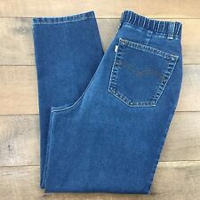 LEVIS Vtg 80s Prop Short Jeans High Waist Stretch Made In USA Womens 14 28Wx26L